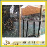 Marmo dell'oro di Portoro per la decorazione dell'interno della pavimentazione