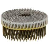 Clous en plastique de bobine de feuille de 15 degrés