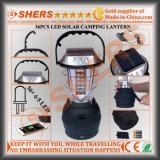 Accionada solar 36 LED Linterna camping de salida USB de arranque Dynamo manivela que cuelga del gancho
