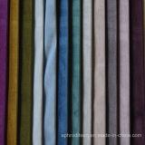 綿のタイプ明るいビロードポリエステルカーテンファブリック