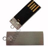La insignia de encargo promocional de calidad superior 2016 imprimió por completo el mini mecanismo impulsor del flash del USB de la aduana del metal