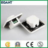 Interruptor ligero programable del amortiguador del LED