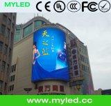 Van de Beste Verkopende LEIDENE Van uitstekende kwaliteit van Alibaba Scherm van het Scherm Vertoning van Jumbotron/LED LEIDENE van de Reclame Grote/het Openlucht