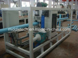 PVC Foaming Pipe Extrusion e Production Line