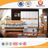 Кровать спальни самомоднейшей конструкции изготовления 2016 новая Китай деревянная (UL-C03)