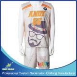 El lacrosse del muchacho de encargo de la sublimación se divierte el uniforme