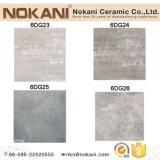 Mattonelle grige di ceramica della porcellana di colore delle mattonelle di pavimento del cemento