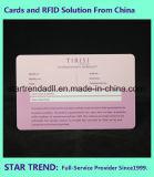 De medische Kaart van pvc van de Kaart met Handtekening voor het Ziekenhuis