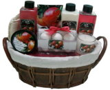 Corpo Lotion Gel (PO9005) com Straw Basket Bath Gift Set