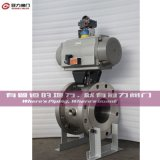 V Port Ball Valve para Water Treatment Industry