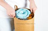 قابل للغسل [كرفت] [ببر بغ]/حقيبة يد أسلوب بسيطة مسيكة [ريوسبل] [كرفت ببر] نوع خيش [هند بغ]