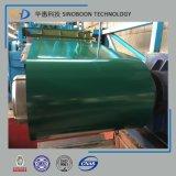 CGCC Ral5020 a enduit la bobine d'une première couche de peinture en acier PPGI avec ISO9001