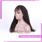 Parrucche mezze ricce brasiliane malesi dei capelli umani di Remy