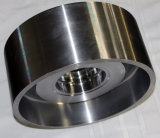 Boucle d'acier inoxydable faite de pièces de usinage de rotation de précision de commande numérique par ordinateur
