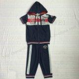 Trajes de esporte francês Terry Boy com zíper em roupas para crianças Sq-6236