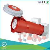 Plugues IP67 & soquetes industriais fêmeas que Waterproofing o conetor