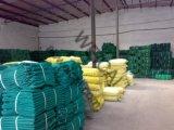 Зелено, голубо, сеть безопасности 100% конструкции PE девственницы, сеть лесов (ремонтины), сеть твердых частиц, затеняя сеть (тени)