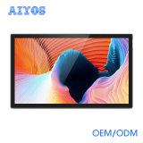 Red androide de interior LCD del precio de fábrica del montaje de la pared de 43 pulgadas que hace publicidad de la pantalla