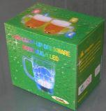 Copo de piscamento da cerveja do diodo emissor de luz (QBM-014)
