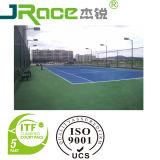 Superficie di sport del rivestimento del pavimento del poliuretano del silicone della corte di tennis