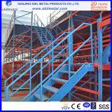 지면 2-3개의 층 강철 선반에 얹는 강철 중이층 벽돌쌓기/저장