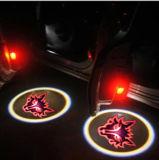 차문 LED 로고 빛