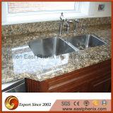 Импортированная светлая - серый гранит Slabe для Countertop кухни