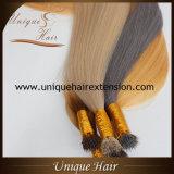 Extensões Nano européias desenhadas dobro do cabelo do anel de Remy
