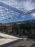 Крыша павильонов стальной структуры с панелью PIR