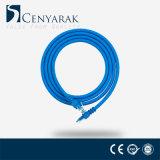 Cavo compiacente della zona del cavo di Ethernet della rete CAT6 di RoHS