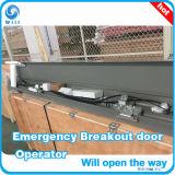 Sistema deslizante automático da porta da fuga de Emergnecy