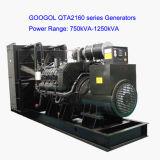 Grand ensemble se produisant diesel 700kVA 560kw à C.A. de Googol