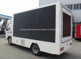 Veículo de anúncio móvel de Foton 4X2 5 do diodo emissor de luz toneladas de caminhão da tela