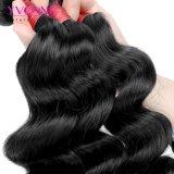 Weave frouxo brasileiro do cabelo humano da onda 100% da classe 8A
