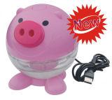 Mini USB épurateur d'air du porc mignon