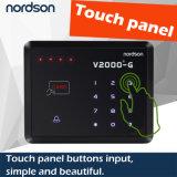 Lo schermo attivabile al tatto RFID di Nt-V2000-G sceglie il controllo di accesso del portello