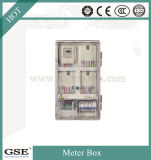 Fase monofásica do PC -801zk caixa de oito medidores (com a caixa de controle principal)