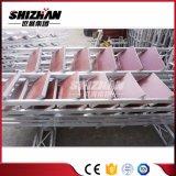 Faciles en gros installent l'échafaudage mobile en aluminium de passerelle de bâti de H