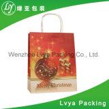 Bolso del regalo del papel de la Navidad del color de la suposición del precio bajo de la buena calidad