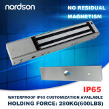 Vente chaude de verrouillage électromagnétique de 600 lb et verrouillage électronique de porte pour sécurité avec sortie de signal Fabricant