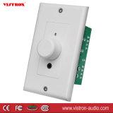 Adaptador sin hilos de la música de BT del receptor de Bluetooth de la en-Pared estéreo placa de pared del amplificador de 15W x de 2CH con el control de volumen, entrada de información aux. de Gato del auricular de 3.5m m