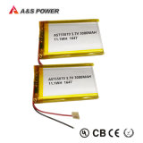 UL 755070再充電可能な3.7V 3000mAhのリチウムポリマー電池李ポリマーLipo