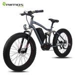 bicicleta eléctrica del motor 26inch del neumático gordo de gran alcance de la montaña
