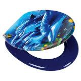 Asientos de tocador decorativos impresos novedad alargada Custom Designed hermosa