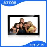 Frame recarregável da foto da BO Digitas 21.5 da polegada fixada na parede