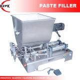 Máquina de rellenar de las pistas del agua de la goma doble de la máquina de rellenar