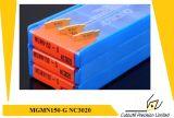 맷돌로 가는 공구 탄화물 삽입을%s Korloy Mgmn150-G Nc3020 맷돌로 가는 삽입