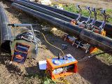 Plástico da tubulação de gás do PE 100 da tubulação do polietileno da câmara de ar do grande diâmetro