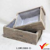 Fazenda Rústica Handmade Vintage Recycle Fir Wood Slat Tray