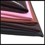 Couro sintético de couro do PVC para o saco de mão, sapatas, Sofa.